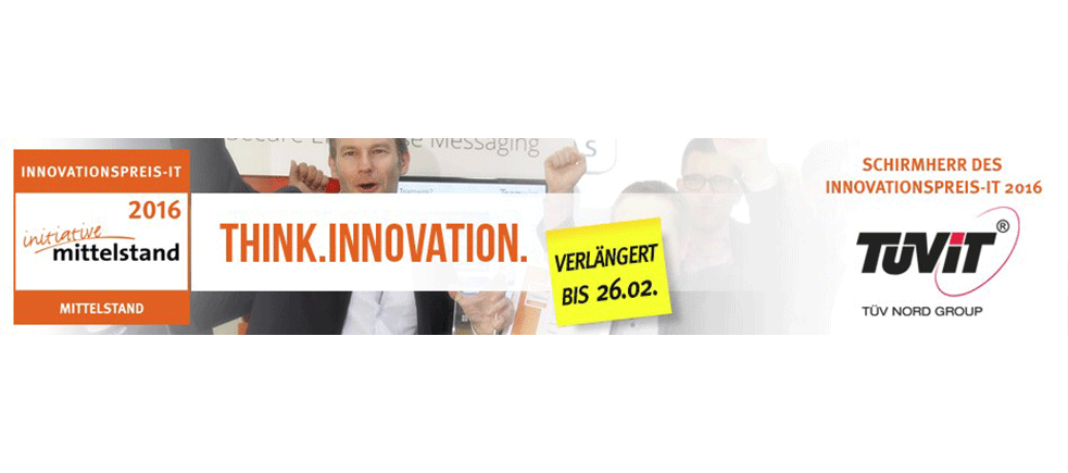 Banner Innovationspreis-IT 2016