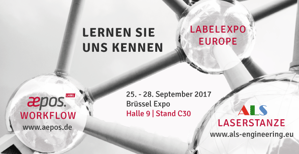 Labelexpo Europe 2017 mit aepos.Label & ALS Engineering